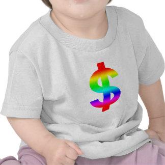 Money US-Dollar Cute Silhouette Anime T Shirt