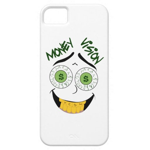 MONEY VISION IPHONE CASE COVER FOR iPhone 5/5S