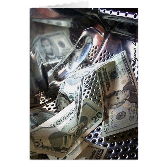 Money Wash Card