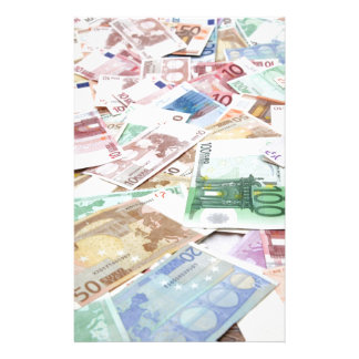Money & wealth stationery paper