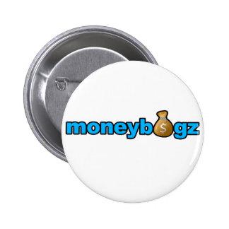 Moneybagz 6 Cm Round Badge