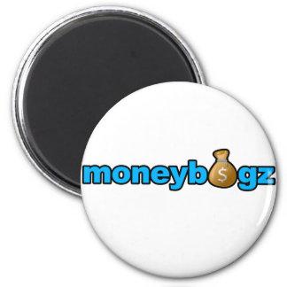 Moneybagz 6 Cm Round Magnet