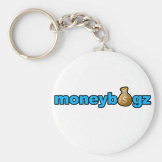 Moneybagz Basic Round Button Key Ring