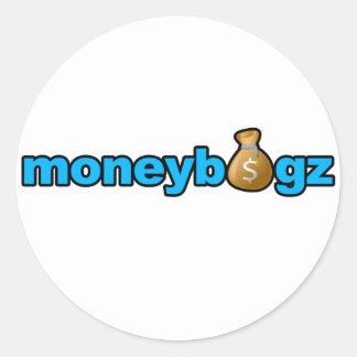 Moneybagz Round Sticker
