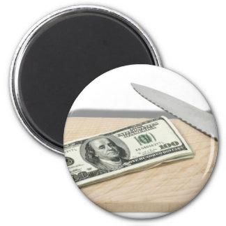 MoneyCuttingBoard092110 6 Cm Round Magnet