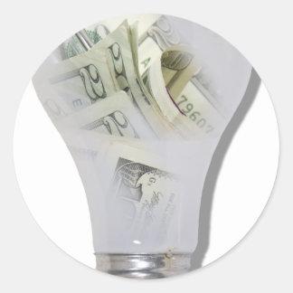 MoneyIdeas082010 Round Sticker