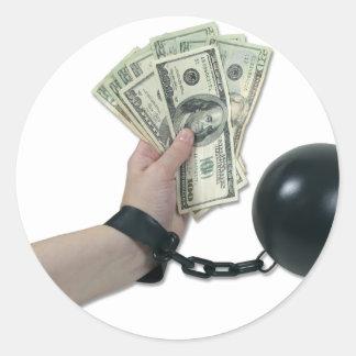 MoneyIssues082510 Round Sticker