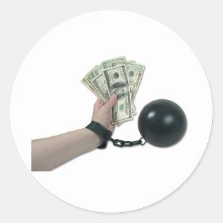 MoneyIssues082510 Round Stickers