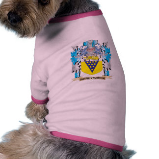 Moneymaker Coat of Arms - Family Crest Dog Clothing