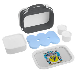 Moneymaker Coat of Arms - Family Crest Lunchboxes