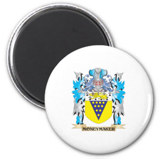 Moneymaker Coat of Arms - Family Crest Refrigerator Magnet