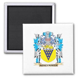 Moneymaker Coat of Arms - Family Crest Fridge Magnets