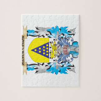 Moneymaker Coat of Arms - Family Crest Jigsaw Puzzles