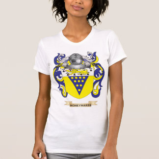 Moneymaker Coat of Arms (Family Crest) T Shirt