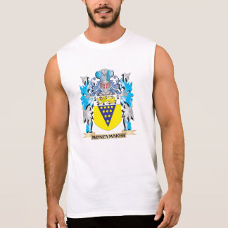 Moneymaker Coat of Arms - Family Crest Sleeveless Tee