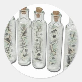 MoneyPotions050711 Round Sticker