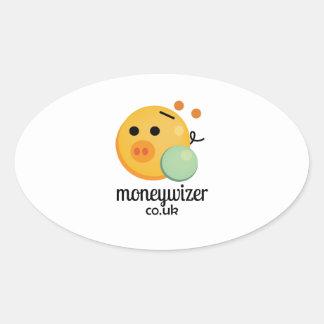 Moneywizer Oval Sticker
