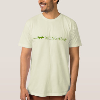 Mongabay brand t-shirt (orange border)