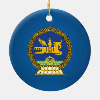 Mongol (Mongolian emblem Christmas Ornament