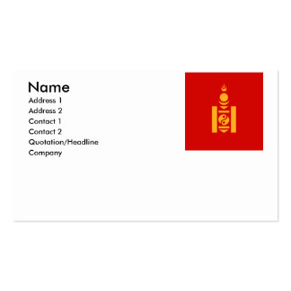 Mongolia Business Cards