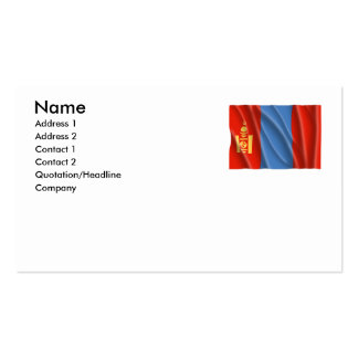 MONGOLIA BUSINESS CARD TEMPLATES