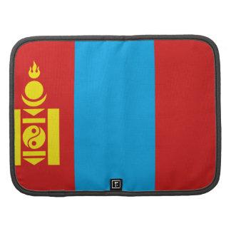 Mongolia Flag Folio Organizer