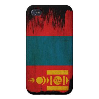 Mongolia Flag iPhone 4 Cover