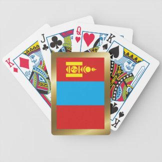 Mongolia Flag Playing Cards