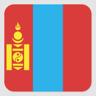 Mongolia Flag Sticker
