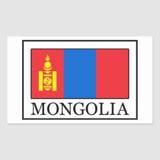 Mongolia Rectangular Sticker