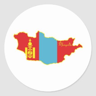 Mongolia Sticker