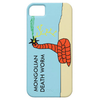 Mongolian Death Worm Phone Case iPhone 5 Cases