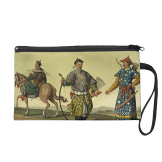 Mongolian Eight Flags soldiers from Ching's milita Wristlet Clutch