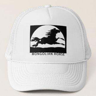 mongolian horse trucker hat