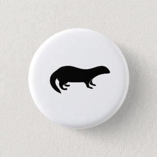 Mongoose Silhouette 3 Cm Round Badge