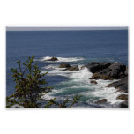 Monhegan Cliff Poster