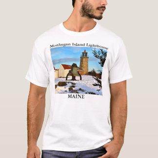 Monhegan Island Lighthouse, Maine T-Shirt