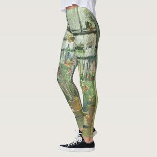 """Monisot's """"Eugene Manet"""" art leggings"""