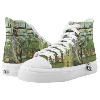 "Monisot's ""Eugene Manet"" art shoes"