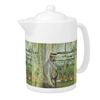 """Monisot's """"Eugene Manet"""" art teapot"""