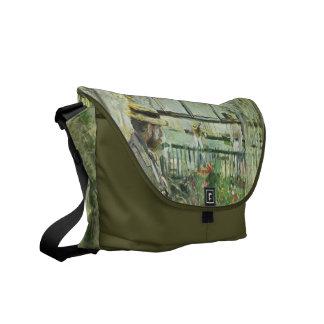 "Monisot's ""Eugene Manet"" messenger bag"