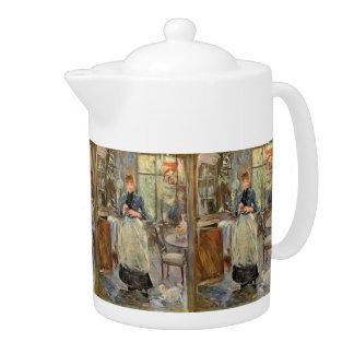 "Monisot's ""The Dining Room"" art teapot"