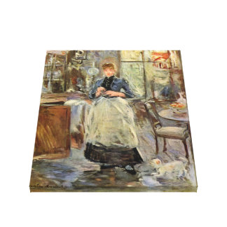 """Monisot's """"The Dining Room"""" canvas print"""