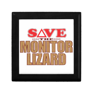 Monitor Lizard Save Gift Box
