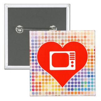Monitors Gift 15 Cm Square Badge