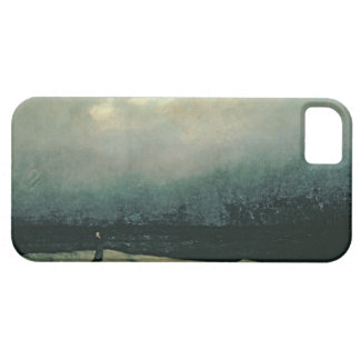 Monk by sea, 1809 iPhone 5 cover