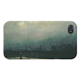 Monk by sea, 1809 cases for iPhone 4