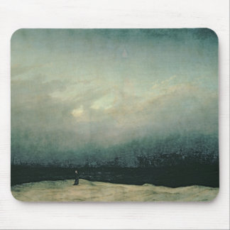 Monk by sea, 1809 mouse mat