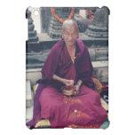 Monk in Bodh Gaya iPad Case