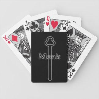 Monk Logo card deck